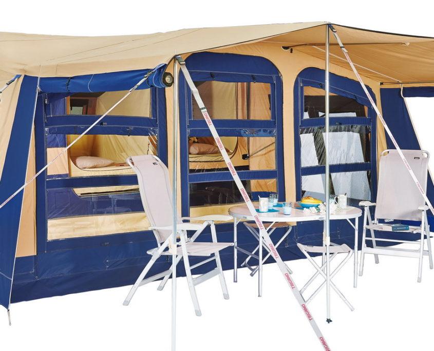 Kamp prikolice | Počitniške prikolice | Šotorske prikolice | Brako prikolice | Trigano Olympe
