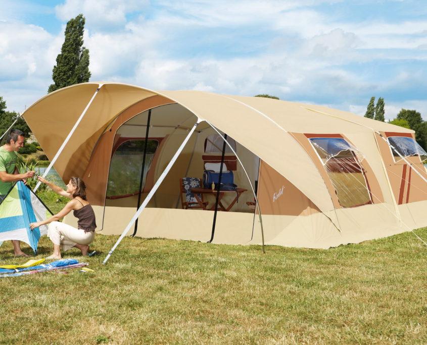 Šotorska počitniška kamp prikolica Trigano Raclet Safari