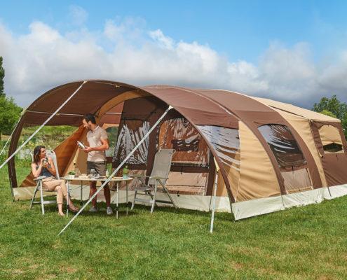 Kamp prikolice Raclet Safari